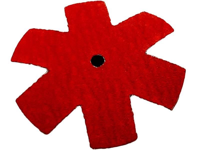 фото Шлифовальная звезда, d75мм, зерно P120