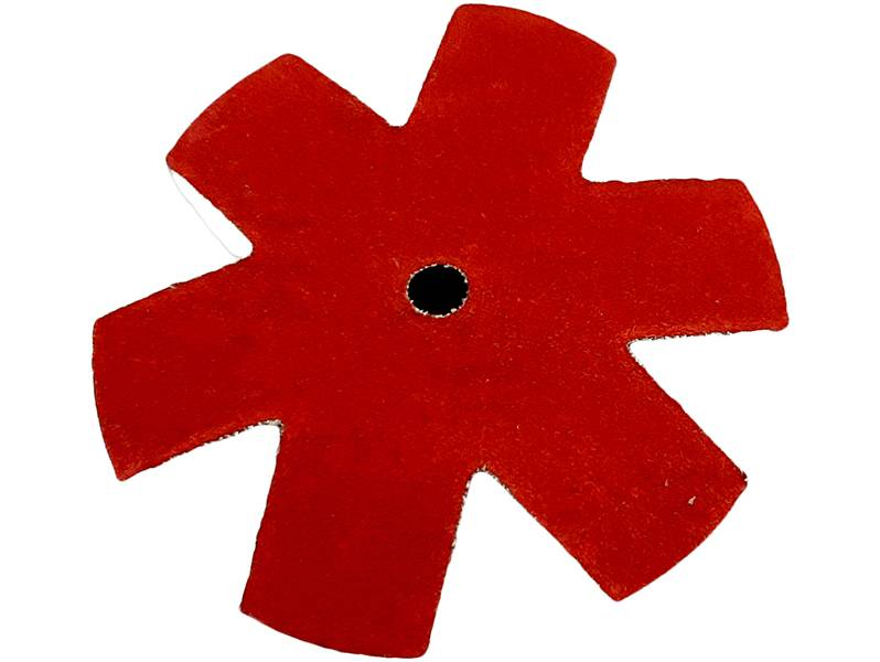фото Шлифовальная звезда, d75мм, зерно P240
