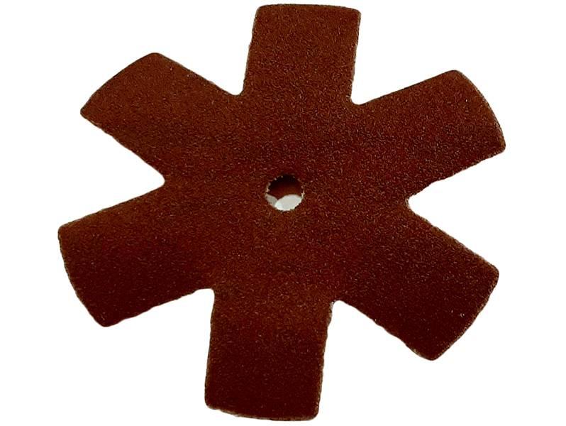 фото Шлифовальная звезда, d75мм, зерно P320