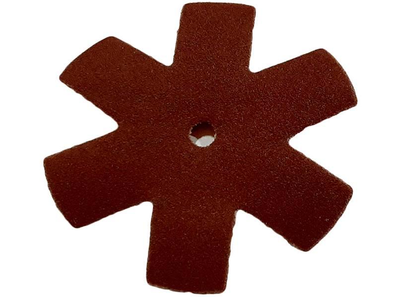 фото Шлифовальная звезда, d75мм, зерно P800