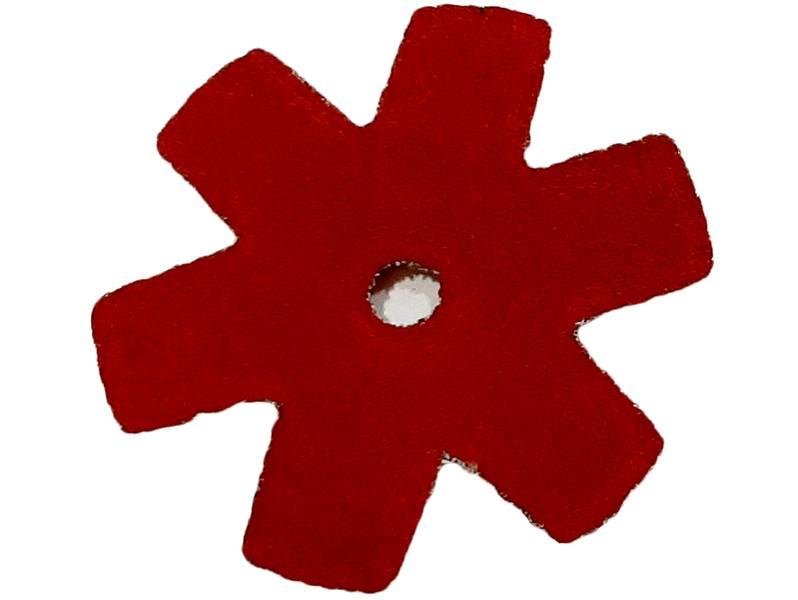фото Шлифовальная звезда, d50мм, зерно P180