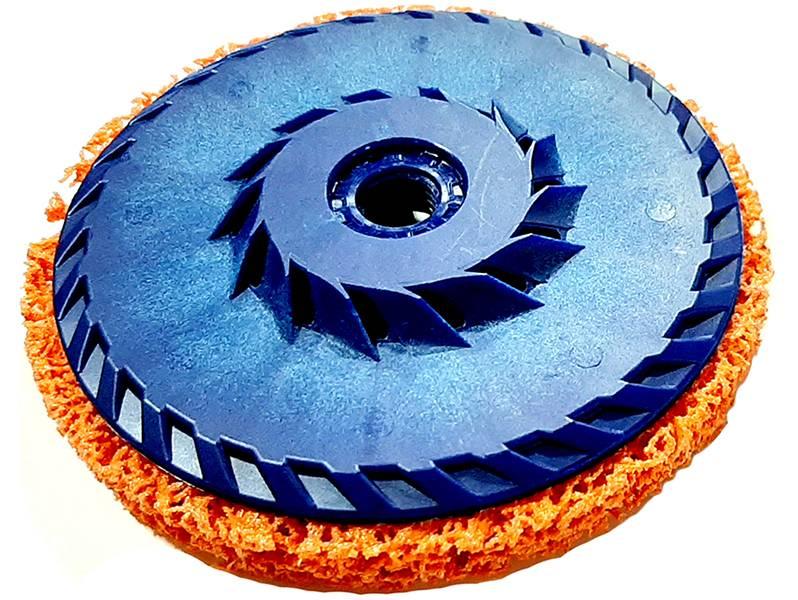 фото Зачистной круг GTOOL CD оранжевый 125*15*M14