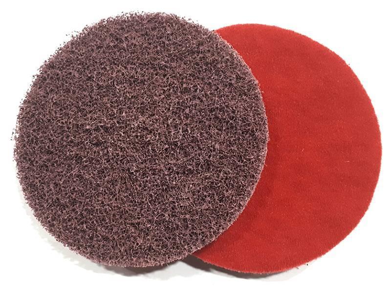 фото Шлифовальный круг из нетканого абразивного материала d125, зерно coarse (P80), уп-ка 10шт