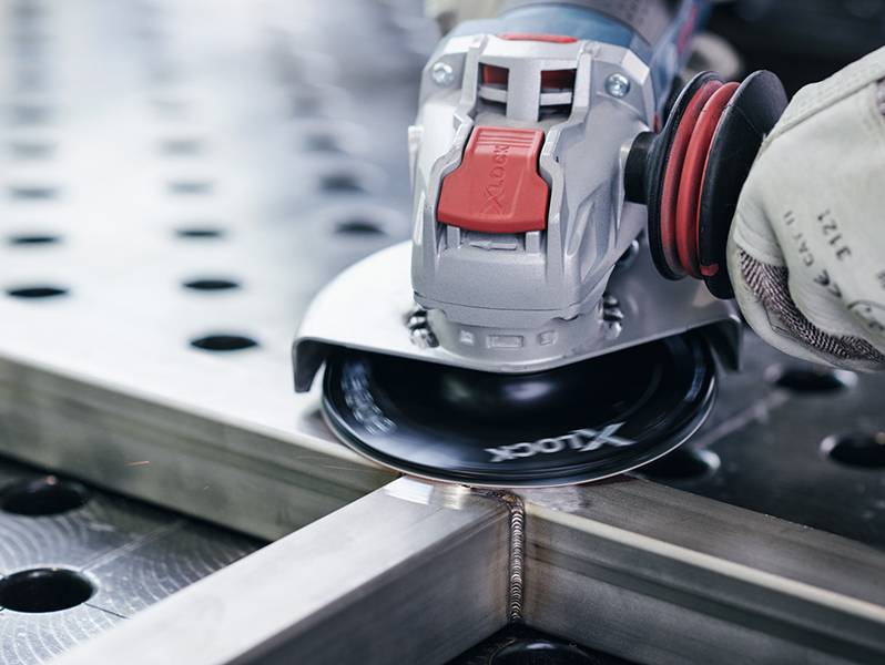фото Опорная тарелка Bosch X-LOCK 125мм, твердая