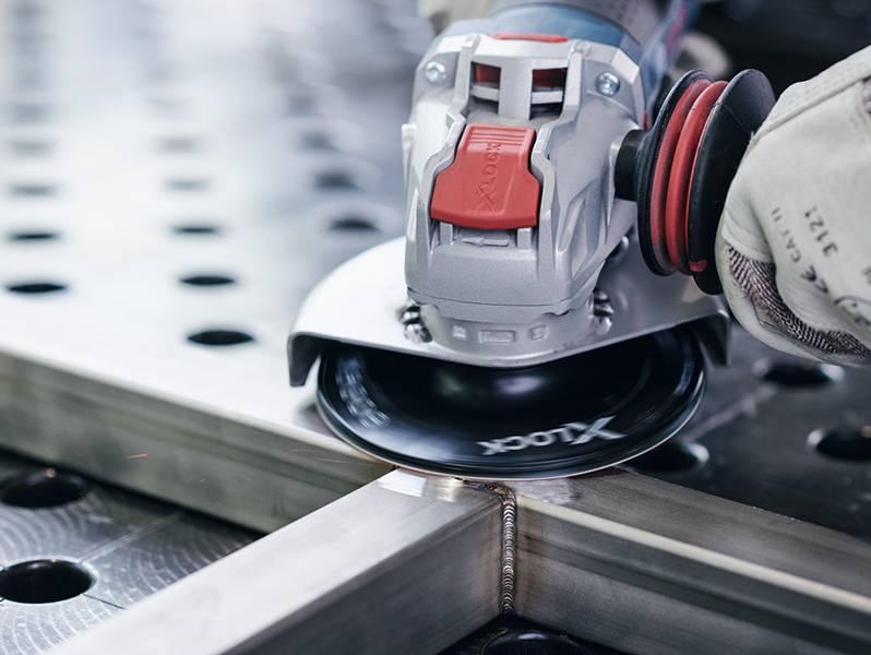 фото Опорная тарелка Bosch X-LOCK 125мм, средняя