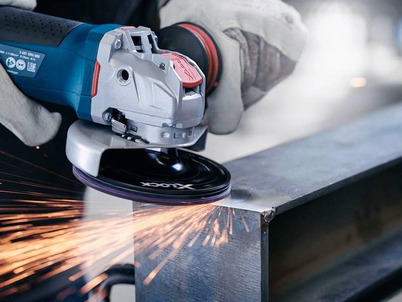 фото Опорная тарелка Bosch X-LOCK 125мм с липучкой