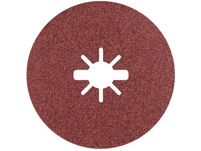 фото Фибровый шлифкруг Bosch X-LOCK Prisma Ceramic Fibre Disc R781 d125мм, зерно P60
