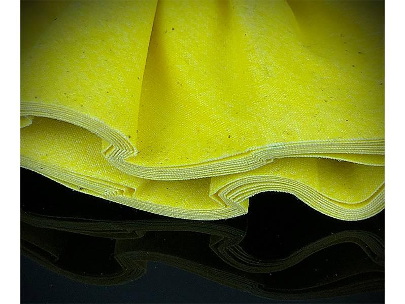фото Круг полировальный хлопчатобумажный желтый d250*76*16