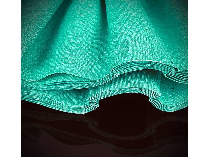 фото Круг полировальный хлопчатобумажный зеленый d250*76*16