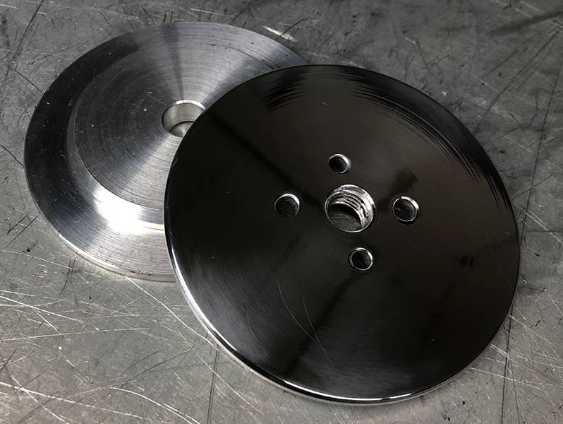 фото Алюминиевые фланцы для полировальных кругов 76мм*М14