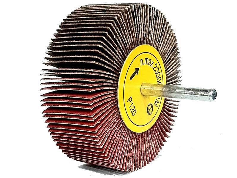 фото Шлифовальные головки лепестковые 80х30х6мм, зерно P120
