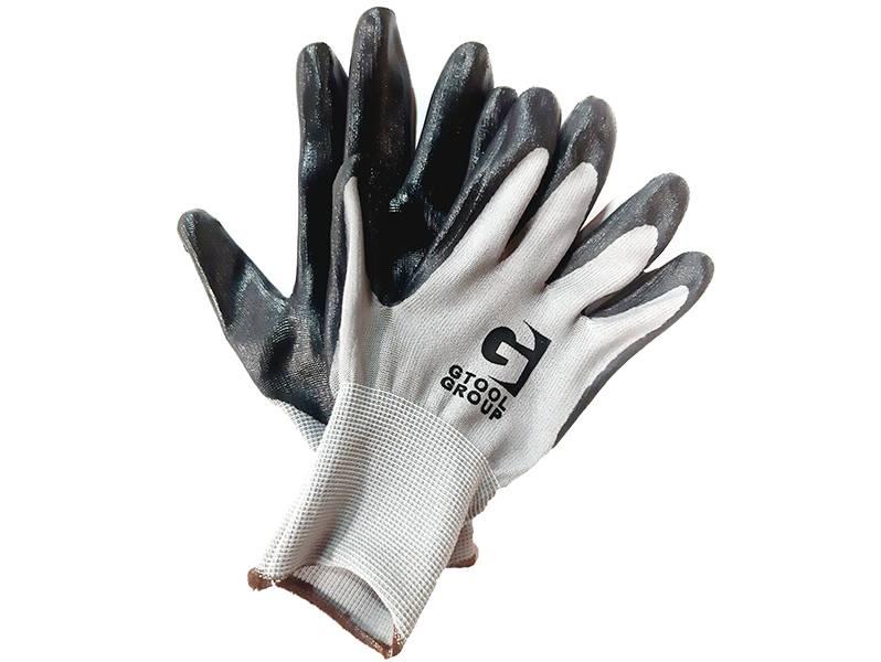 фото Перчатки защитные GTG3 (нитриловое покрытие)