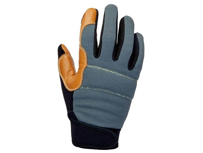 фото Защитные антивибрационные кожаные перчатки Jeta Safety JAV06 Omega, размер 9/L