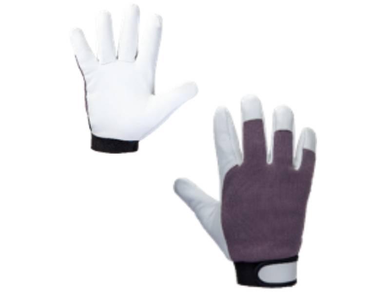 фото Кожаные рабочие перчатки Jeta Safety JLE305 Winter Mechanic с утепленной подкладкой, размер 9/L