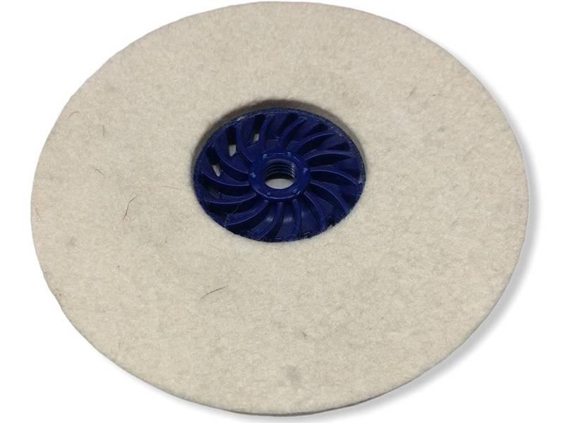 фото Круг торцевой полировальный войлочный d165*6*М14, 0,4г/см3
