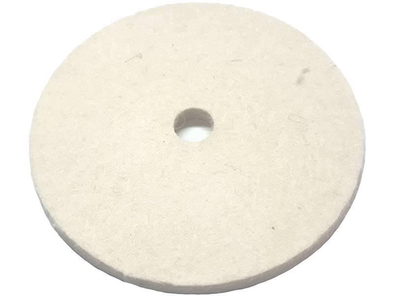 фото Круг торцевой полировальный войлочный d100*6*13мм, 0,6г/см3