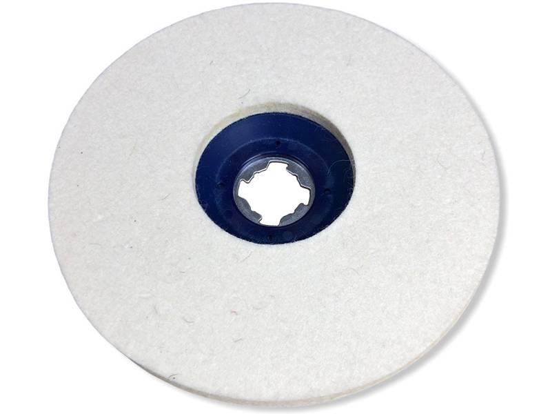 фото Круг торцевой полировальный войлочный X-LOCK 165*6мм, 0,4г/см3