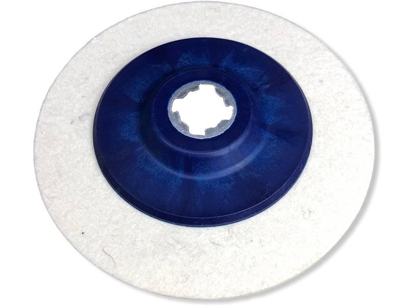 фото Круг торцевой полировальный войлочный X-LOCK 165*6мм, 0,6г/см3