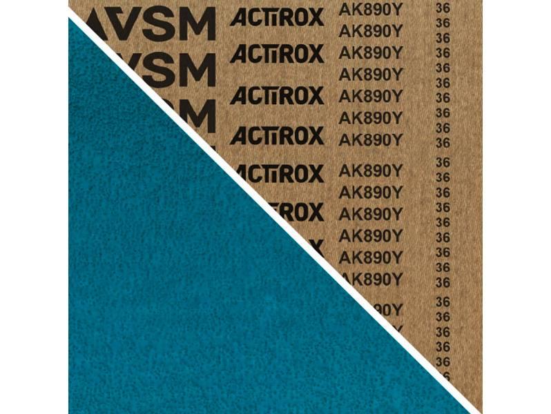 фото Шлифовальная лента ACTIROX AK890Y 150*2000, зерно P36