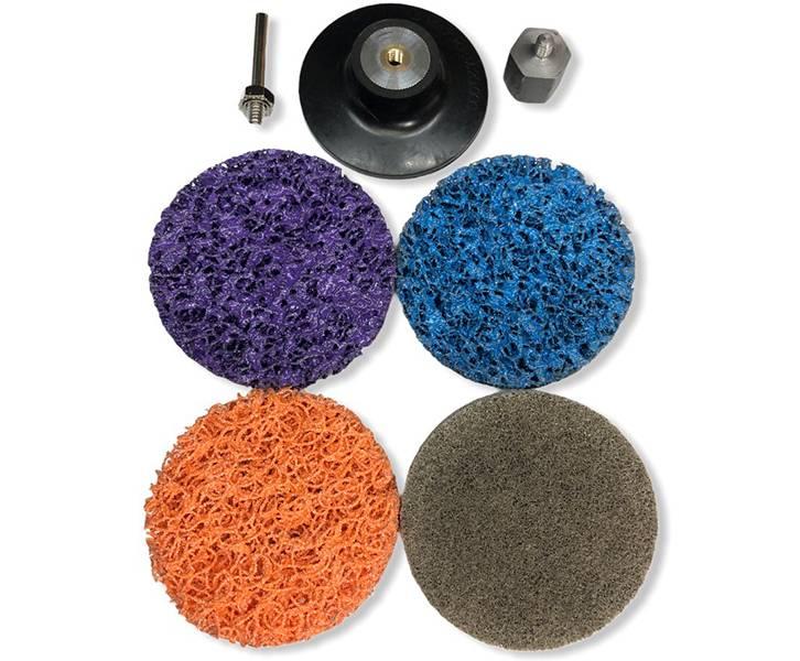 фото Набор для очистки краски и ржавчины, d50