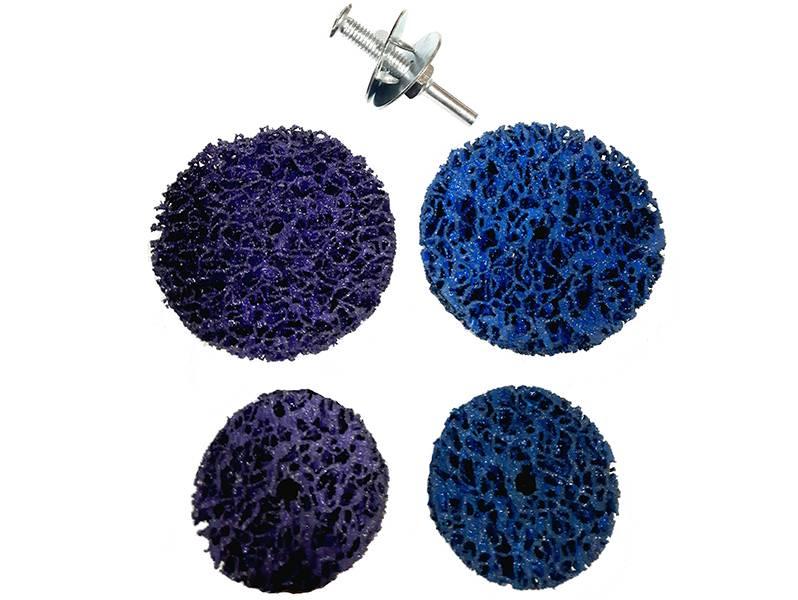 фото Набор для очистки краски и ржавчины, d75*6мм