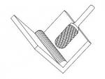фото Борфреза GTOOL G-Cut форма C цилиндр со сферическим концом, диаметр головки 12мм