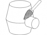фото Борфреза GTOOL форма H язычок пламени, диаметр головки 12мм
