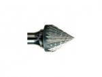 фото Борфреза GTOOL форма J зенкер с вершиной 60°, диаметр головки 10мм