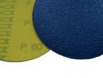 фото Шлифовальные круги Velcro ZK (цирконий) d125, зерно P60