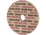 фото Круг Scotch-Brite Rapid Cut RC-UW 150мм х 6мм х 13мм, зерно 7C CRS