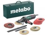 фото Электронная угловая шлифовальная машина Metabo WEVF 10-125 Quick Inox Set, 1000Вт
