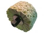 фото Набор хлопчатобумажных полировальных кругов с оправкой