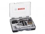 фото Набор Bosch из 20 бит Drill&Drive, со сверлами HSS и гаечным ключом