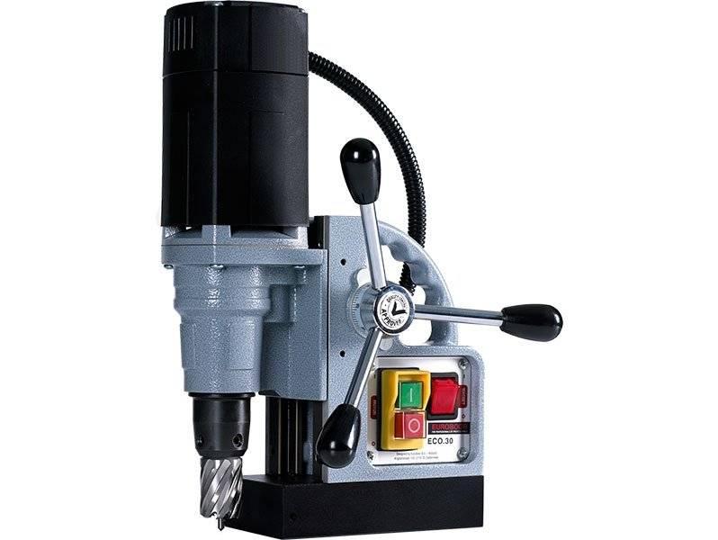 Аренда сверлильного станка на магнитном основании до 30 мм Euroboor ECO.30